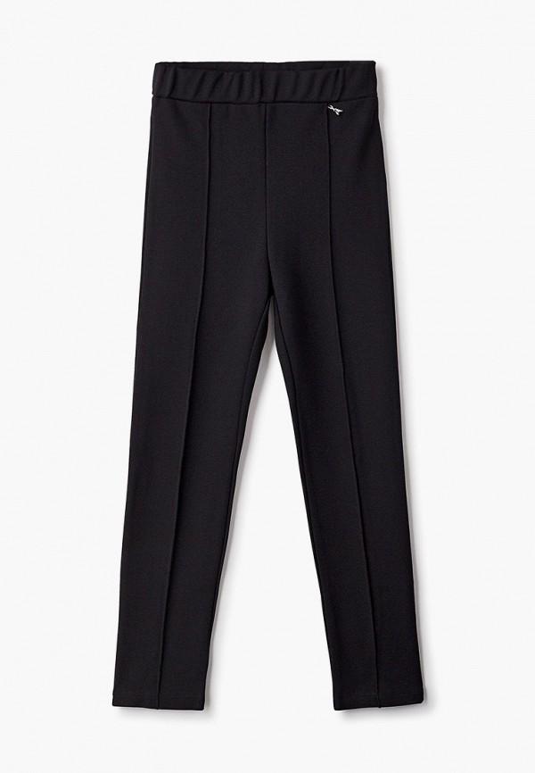 брюки patrizia pepe для девочки, черные