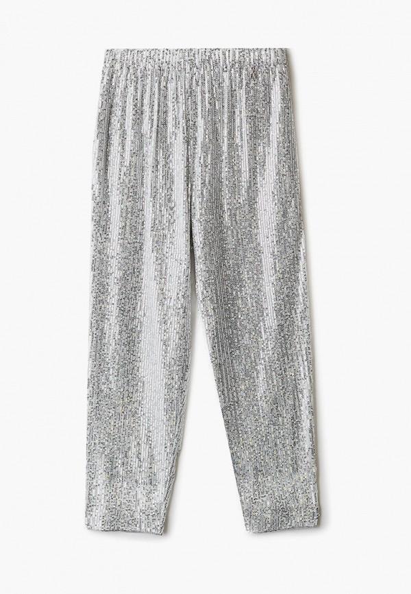 брюки patrizia pepe для девочки, серебряные