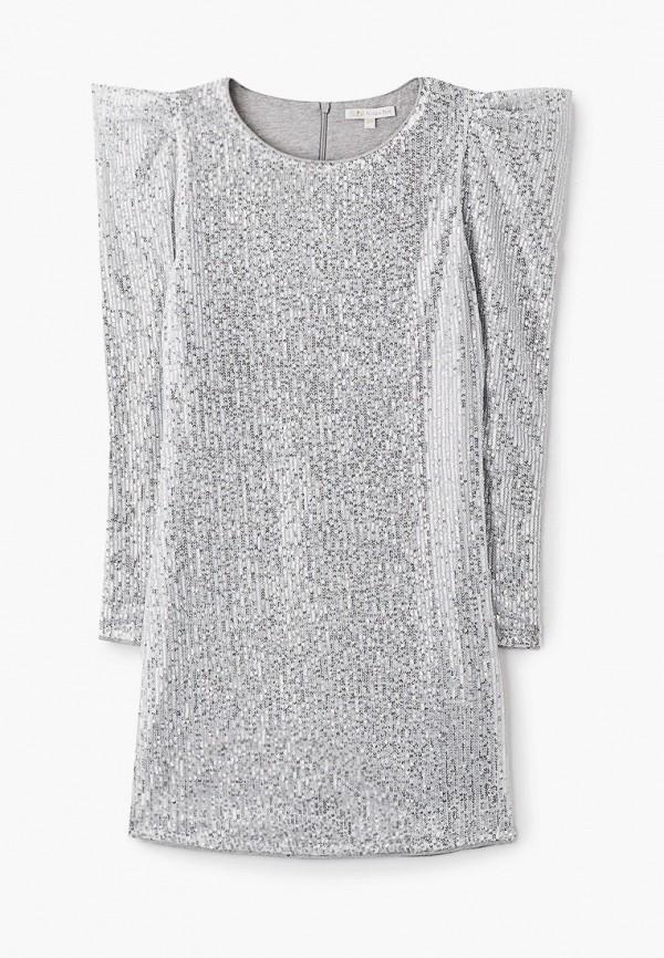платье patrizia pepe для девочки, серебряное