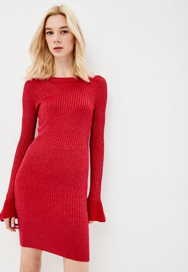 женское платье patrizia pepe, красное