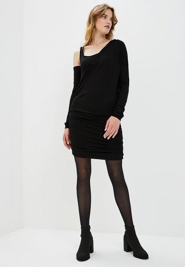 Фото 2 - женское платье Patrizia Pepe черного цвета