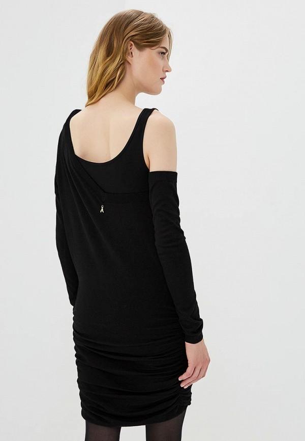 Фото 3 - женское платье Patrizia Pepe черного цвета