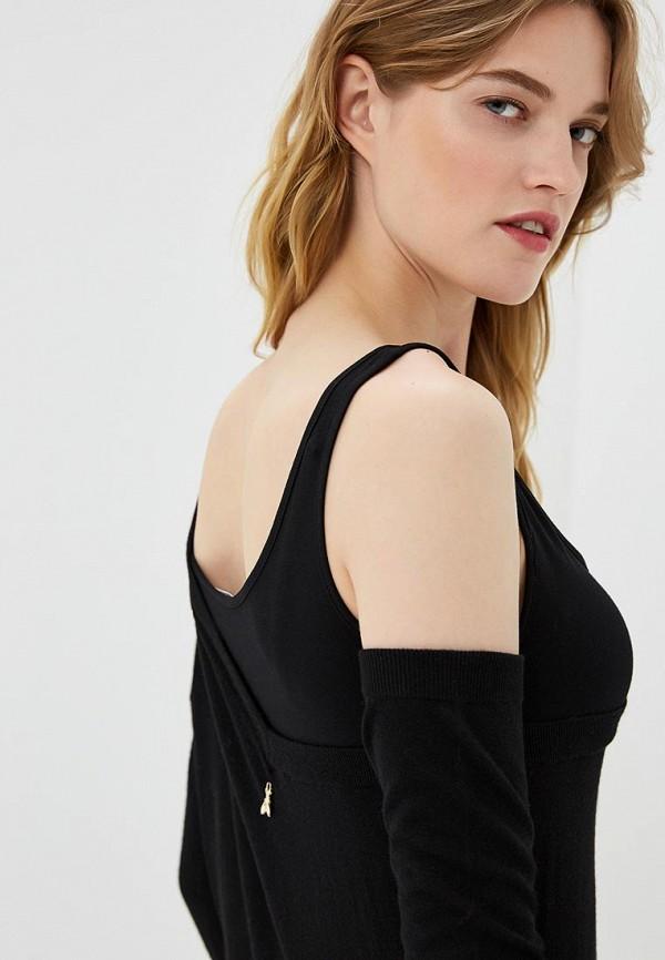 Фото 4 - женское платье Patrizia Pepe черного цвета