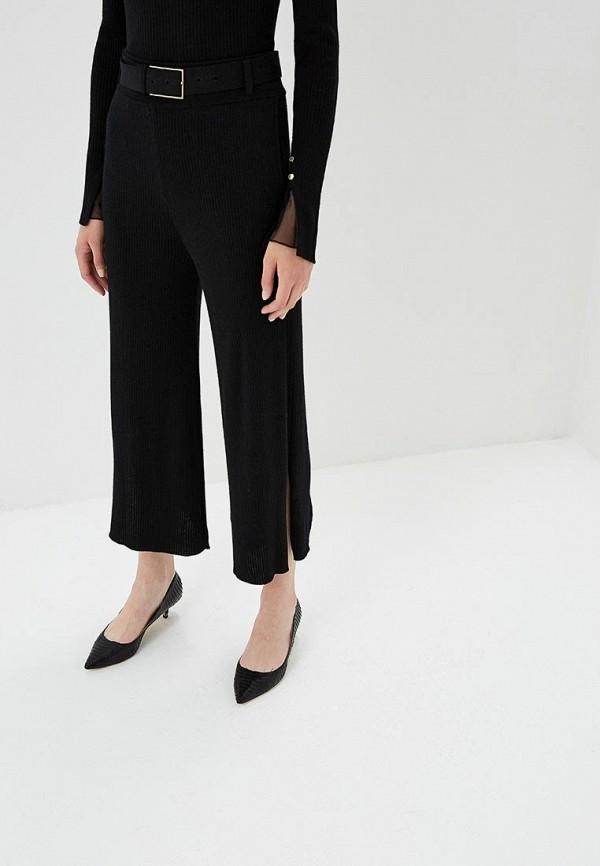 женские брюки клеш patrizia pepe, черные
