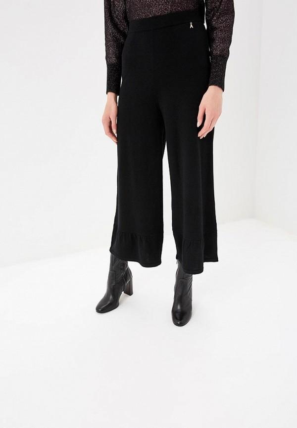 женские спортивные спортивные брюки patrizia pepe, черные