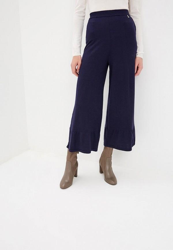 женские спортивные спортивные брюки patrizia pepe, синие