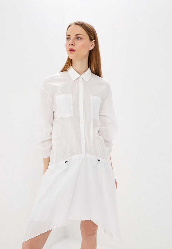 женское платье patrizia pepe, белое