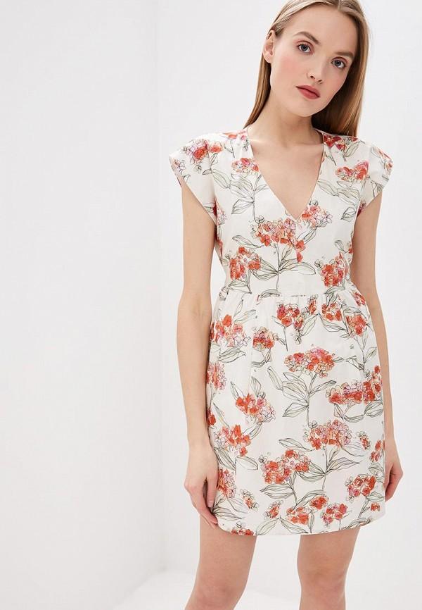 женское повседневные платье patrizia pepe, белое