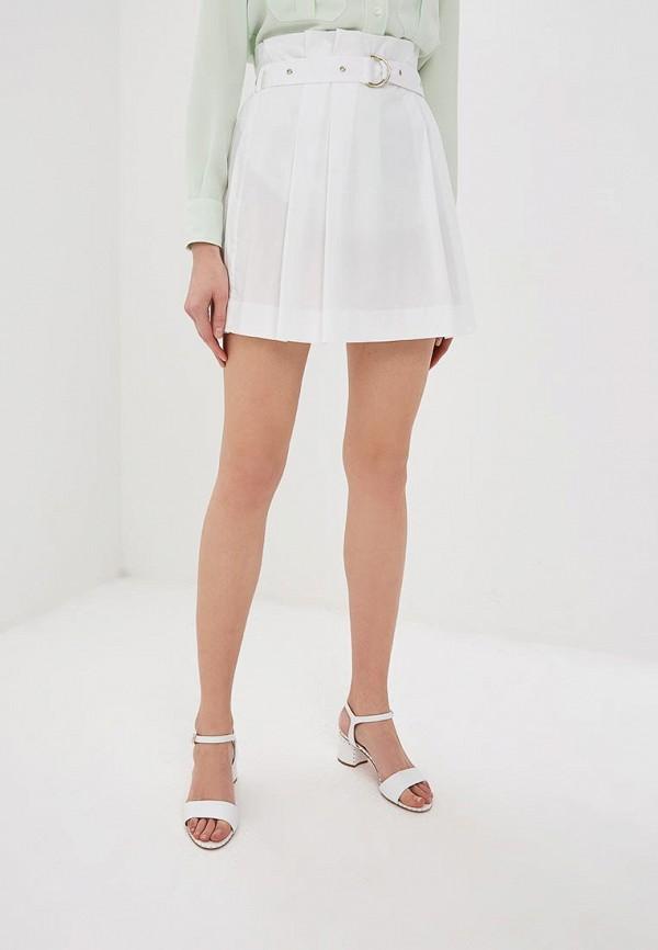 женская юбка patrizia pepe, белая