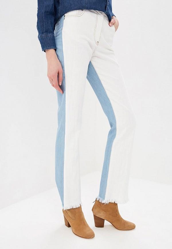 женские прямые джинсы patrizia pepe, разноцветные