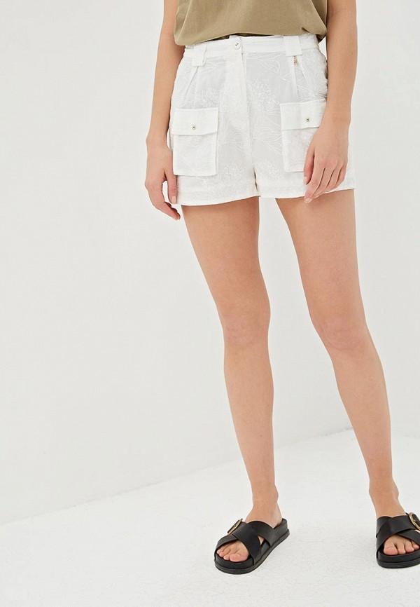 женские повседневные шорты patrizia pepe, белые