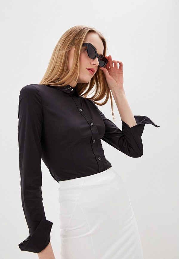 Купить Рубашка Patrizia Pepe, pa748eweykw3, черный, Весна-лето 2019