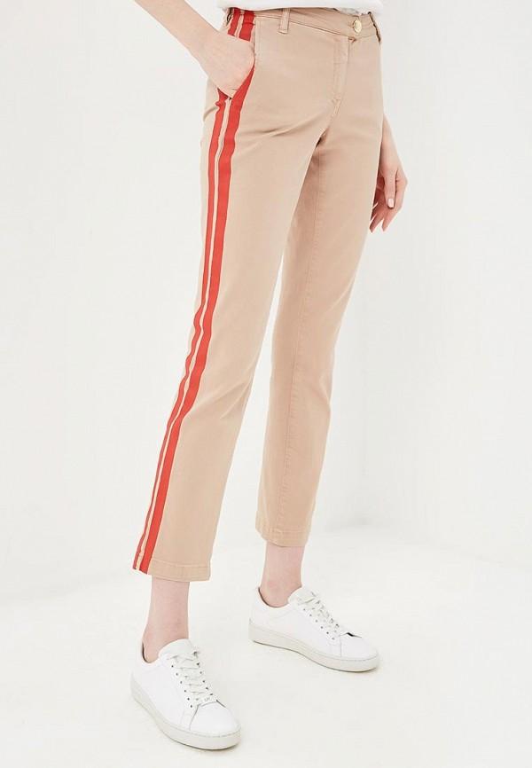женские повседневные брюки patrizia pepe, бежевые
