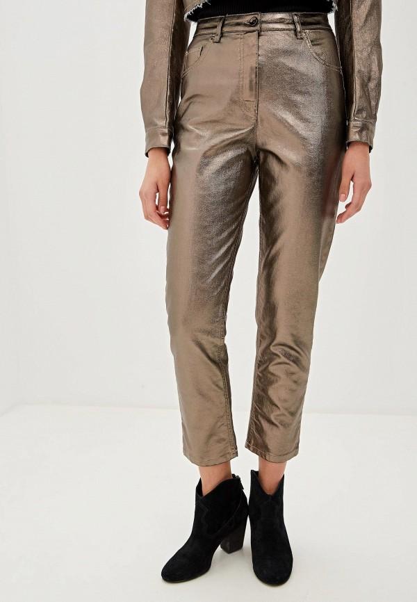 женские брюки patrizia pepe, золотые
