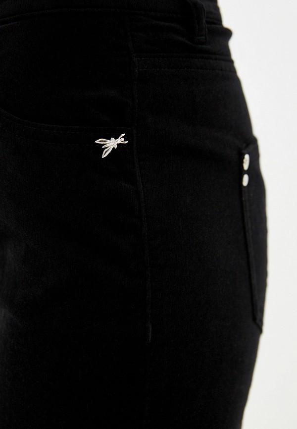 Фото 4 - женские брюки Patrizia Pepe черного цвета