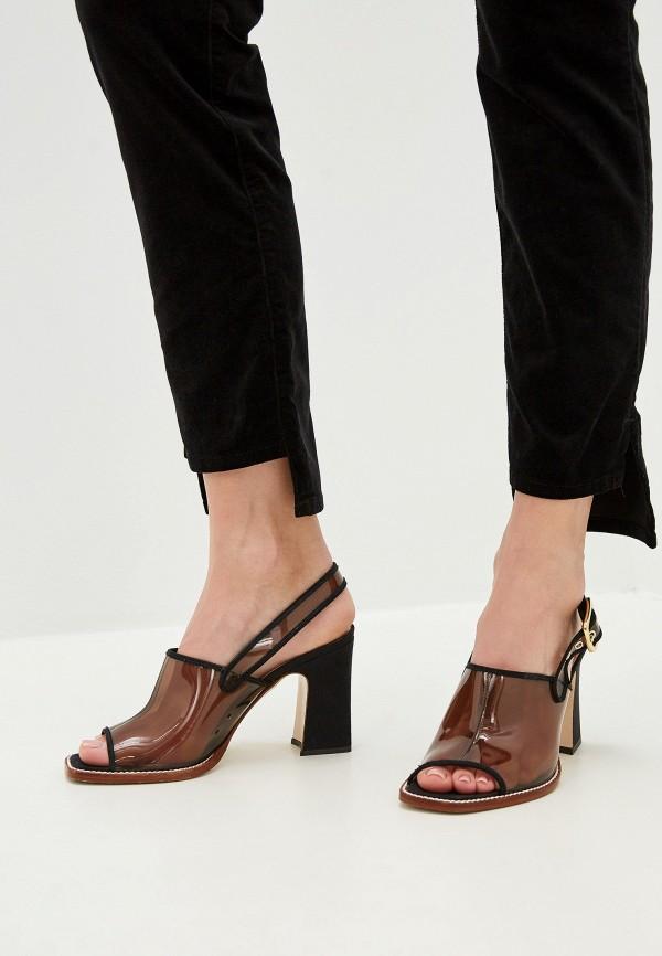 Фото 5 - женские брюки Patrizia Pepe черного цвета