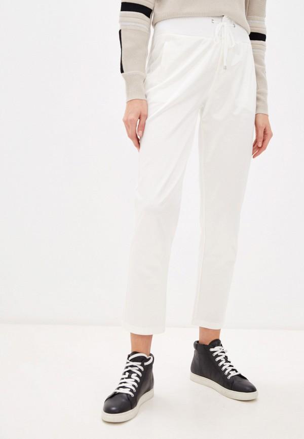 женские классические брюки patrizia pepe, белые