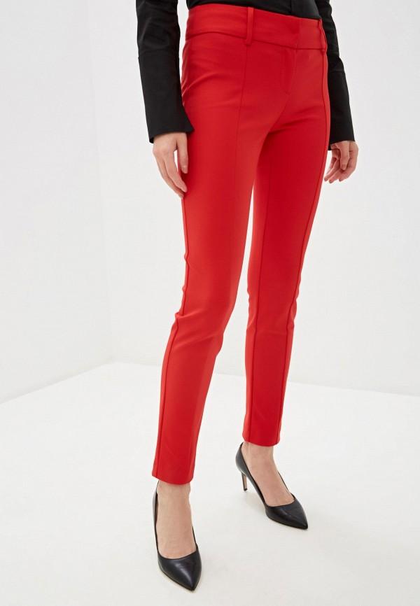 женские классические брюки patrizia pepe, красные