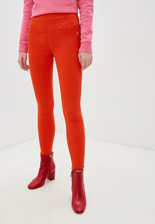 женские джинсы patrizia pepe, оранжевые