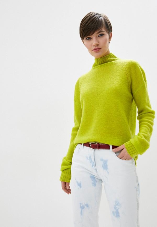 женский свитер patrizia pepe, зеленый