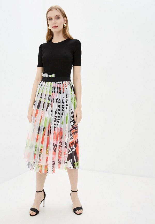 женское повседневные платье patrizia pepe, разноцветное