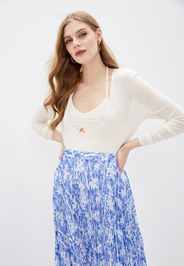 женский пуловер patrizia pepe, белый