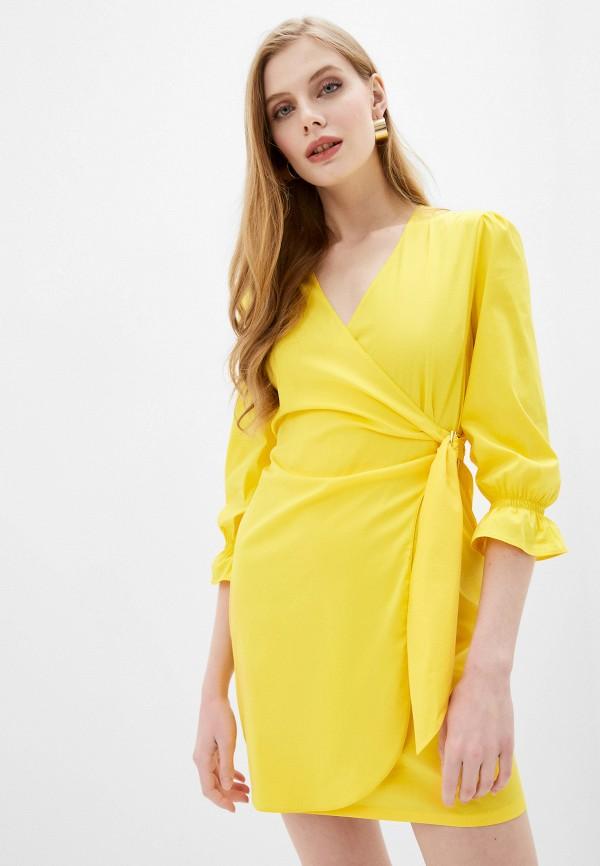 женское платье patrizia pepe, желтое