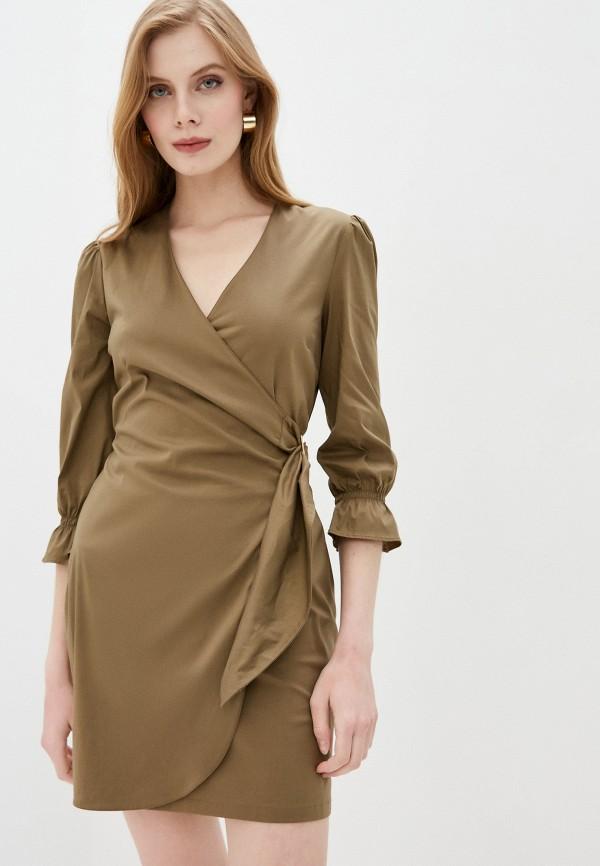 женское платье patrizia pepe, хаки