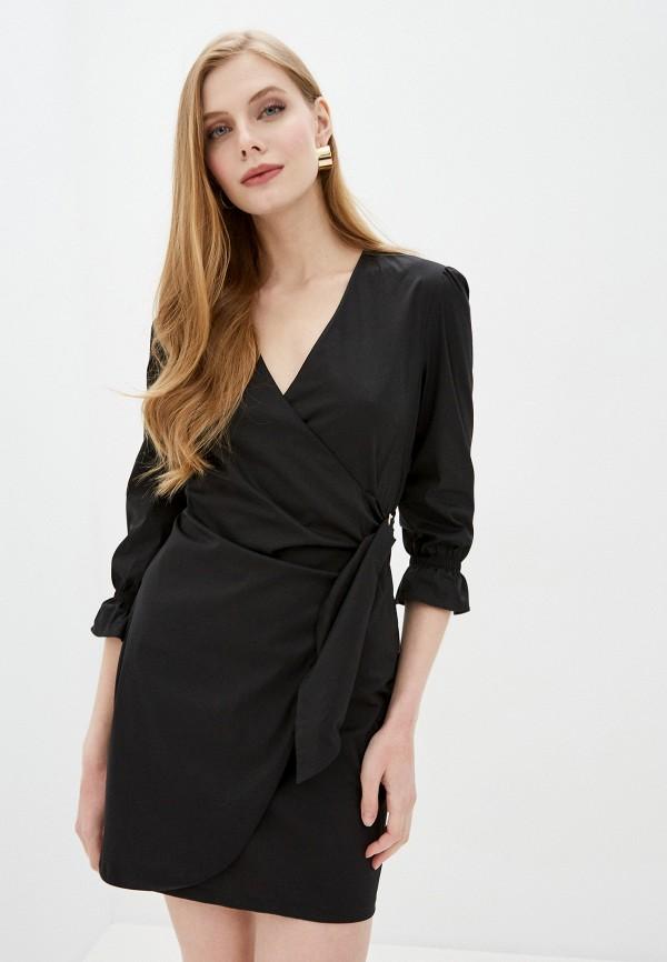 женское платье patrizia pepe, черное