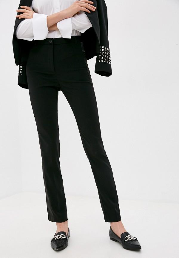 женские повседневные брюки patrizia pepe, черные