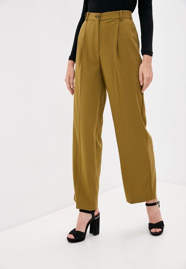женские повседневные брюки patrizia pepe, хаки
