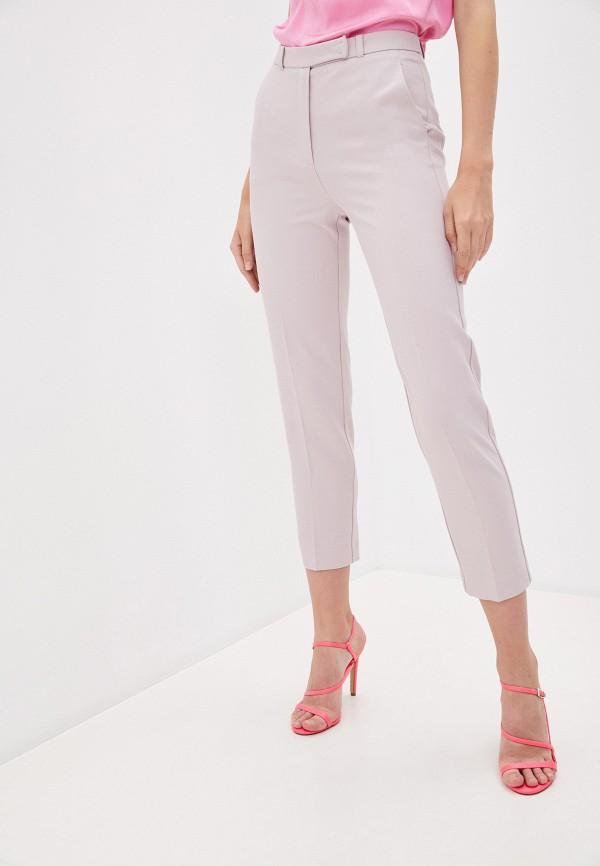 женские повседневные брюки patrizia pepe, розовые