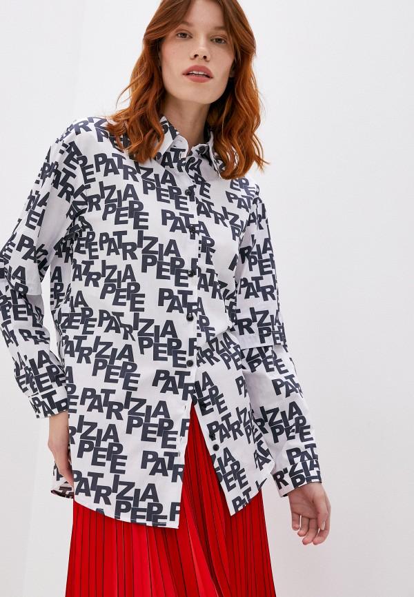 женская рубашка с длинным рукавом patrizia pepe, разноцветная