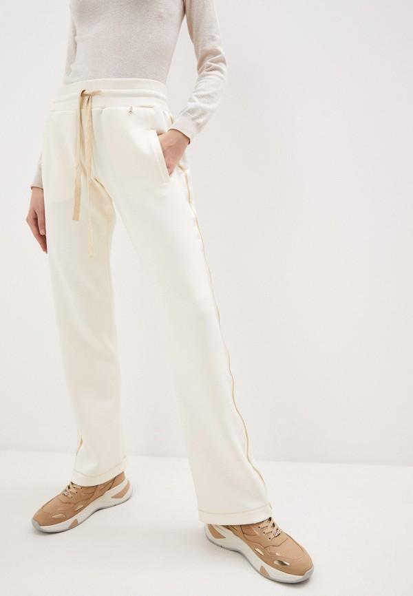женские спортивные брюки patrizia pepe, бежевые