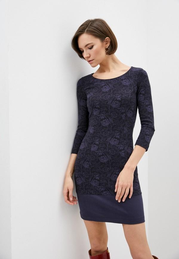 женское платье-футляр patrizia pepe, синее