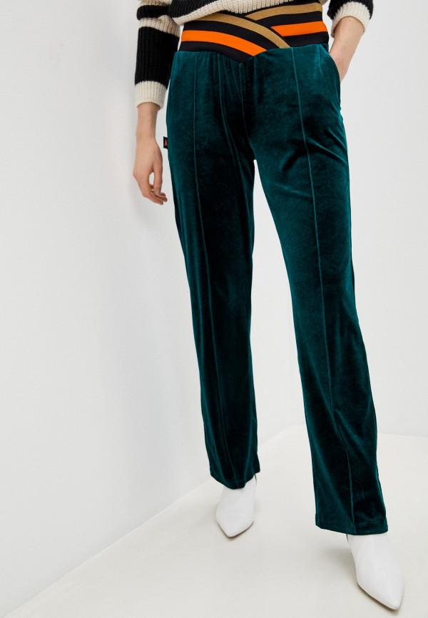 женские спортивные брюки patrizia pepe, бирюзовые