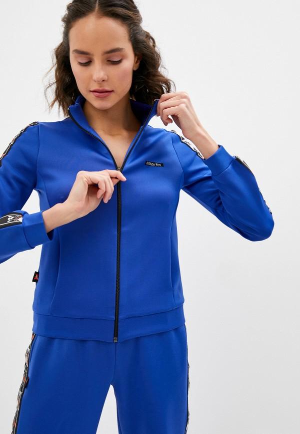 женская олимпийка patrizia pepe, синяя