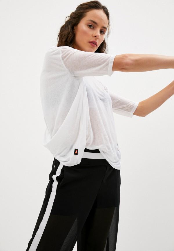 женская футболка patrizia pepe, белая