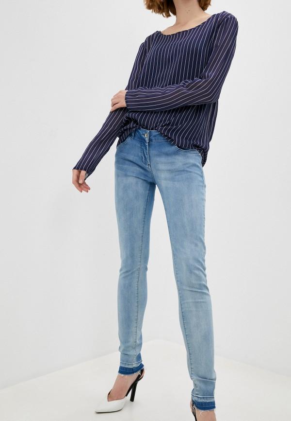 женские джинсы patrizia pepe, голубые