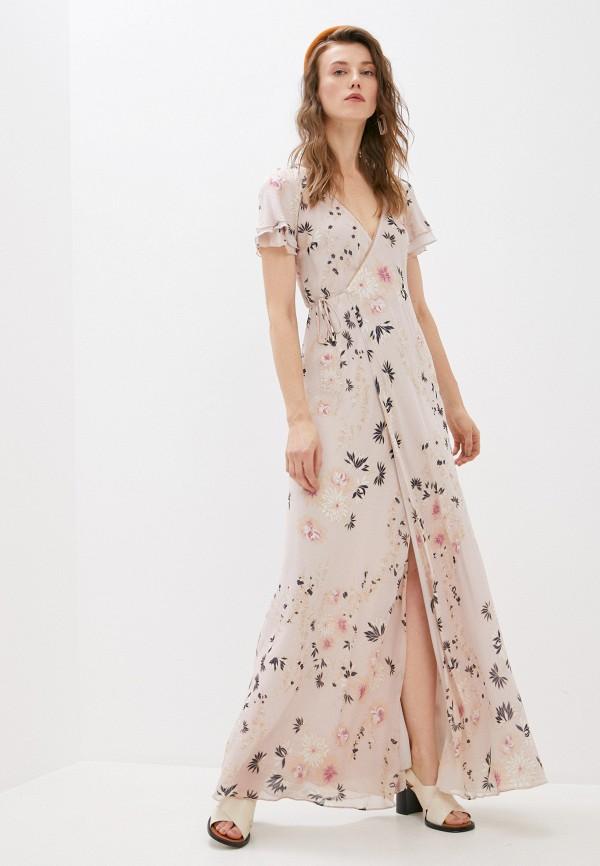 женское платье patrizia pepe, бежевое