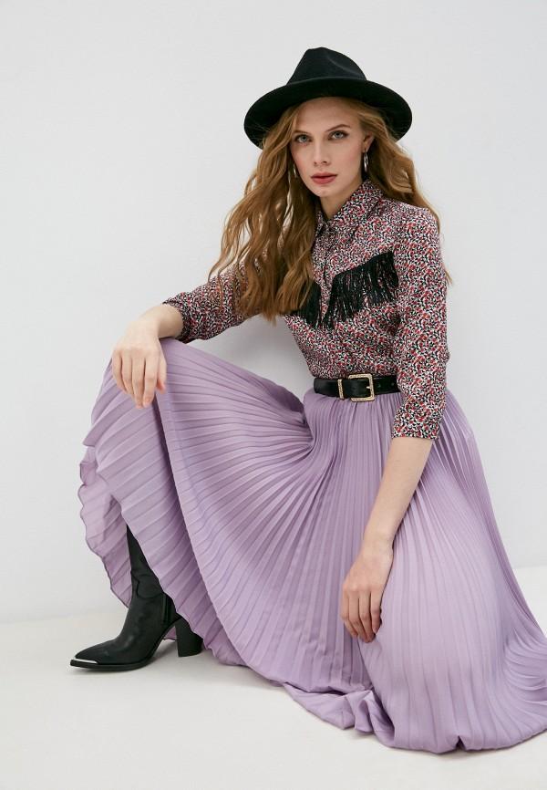 женская блузка patrizia pepe, разноцветная