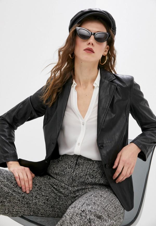 женский пиджак patrizia pepe, черный
