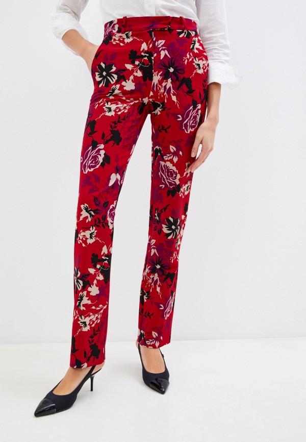 женские повседневные брюки patrizia pepe, красные