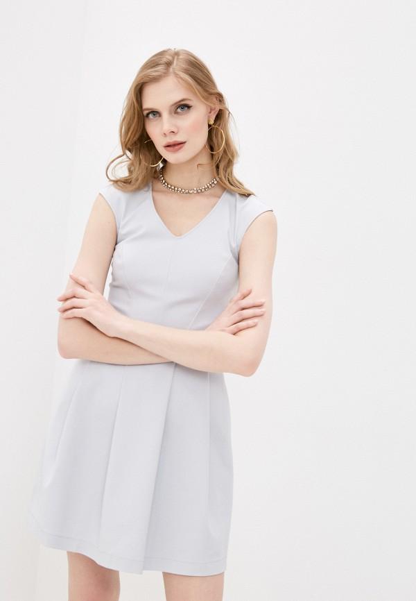 женское повседневные платье patrizia pepe, серое