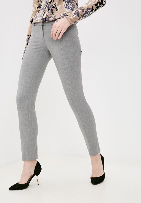 женские повседневные брюки patrizia pepe, серые