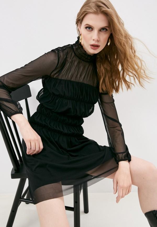 женское вечерние платье patrizia pepe, черное