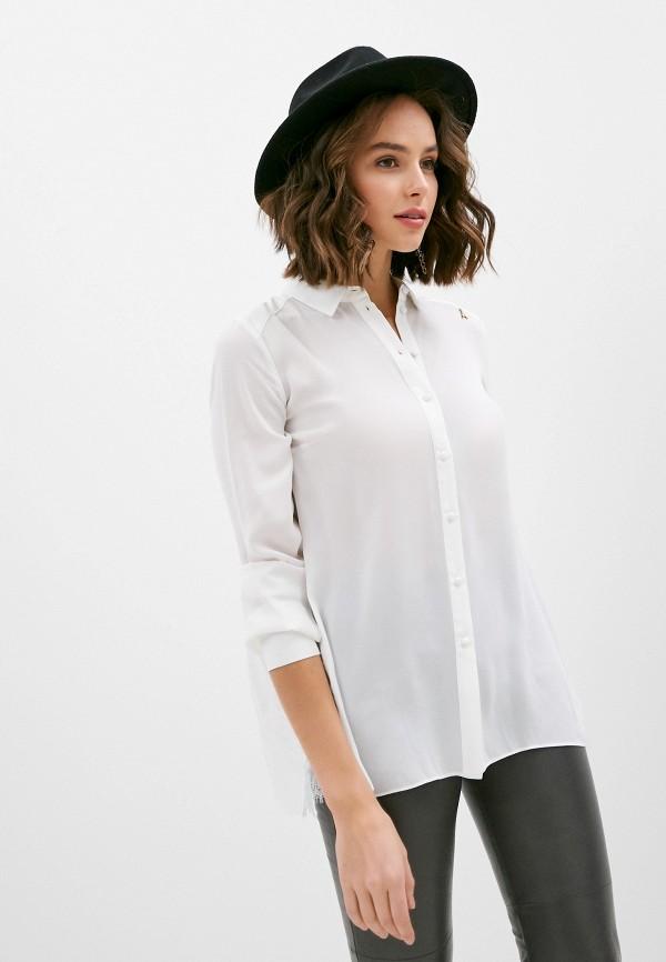 женская блузка patrizia pepe, белая