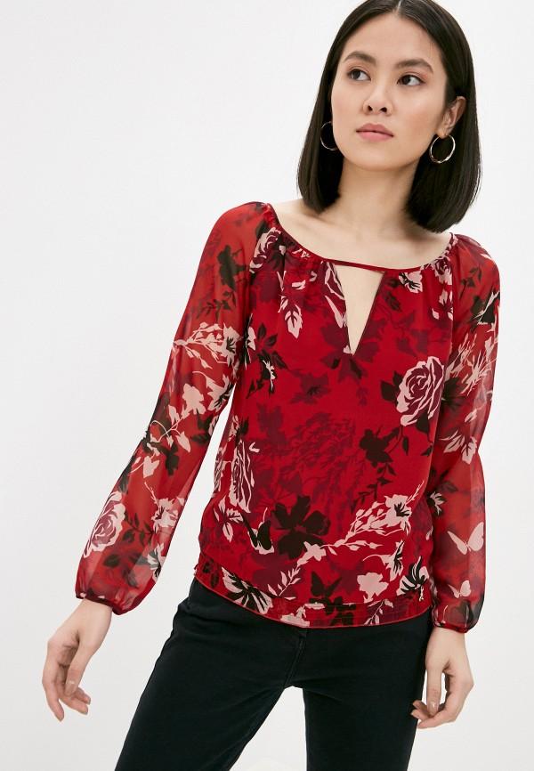 женская блузка patrizia pepe, красная