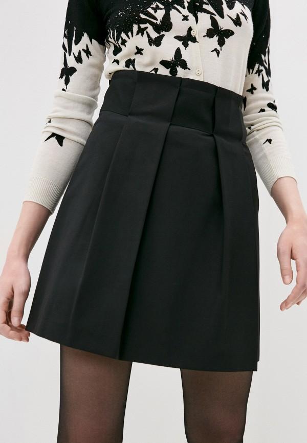 женская юбка patrizia pepe, черная