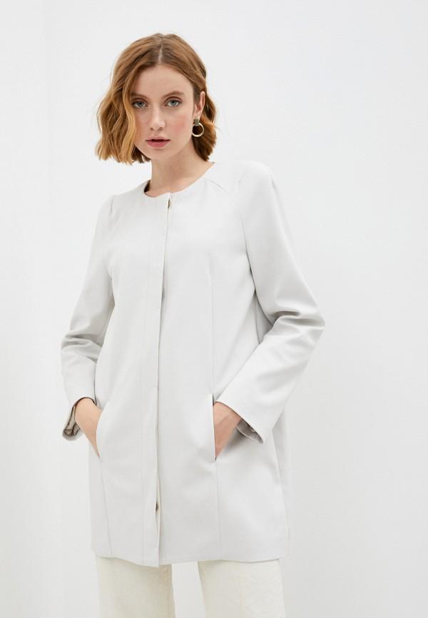 женское пальто patrizia pepe, белое